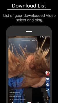 Video Downloader For Tik Tok screenshot 1