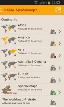 MAMA - Offline Maps Manager screenshot 1
