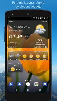 Weather & Clock Widget poster