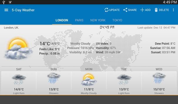 Weather & Clock Widget screenshot 13