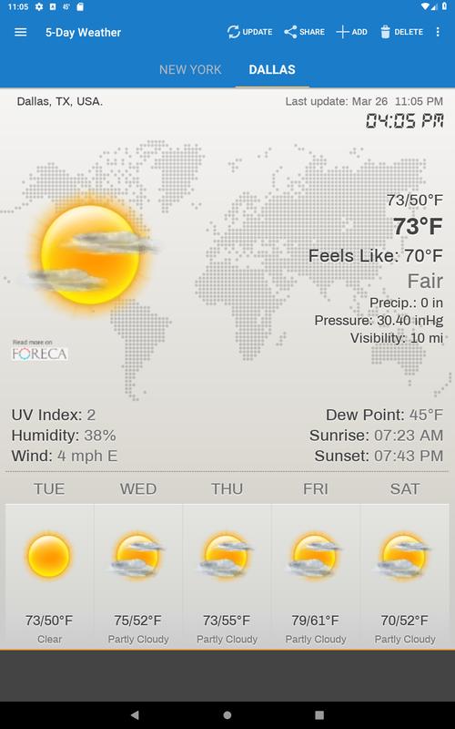 Weather & Clock Widget for Android - APK Download