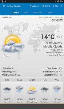 Weather & Clock Widget screenshot 12