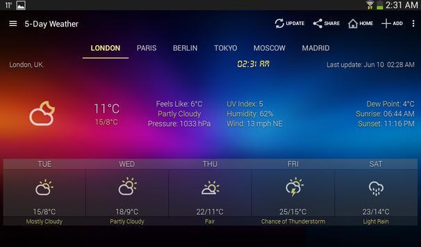 Weather & Clock Widget screenshot 16