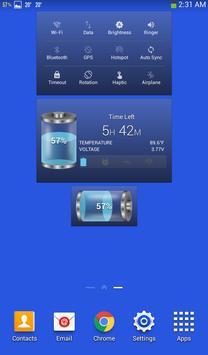Bateria ferramentas e widget (poupança de bateria) imagem de tela 11