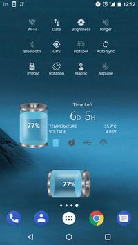Bateria ferramentas e widget (poupança de bateria) imagem de tela 1