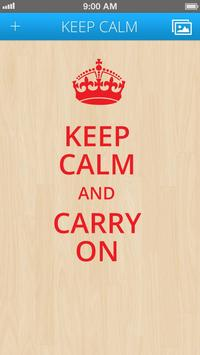 Keep Calm for Android screenshot 2