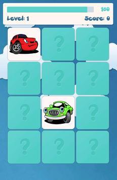 아이들을위한 자동차 메모리 게임 스크린샷 4