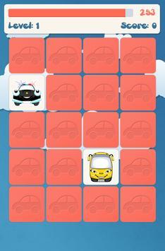 아이들을위한 자동차 메모리 게임 스크린샷 5