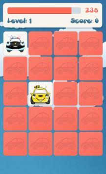 Авто памяти игра для детей скриншот 3