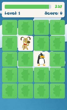 Animals memory game for kids screenshot 3