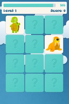 Животные память игры для детей скриншот 5