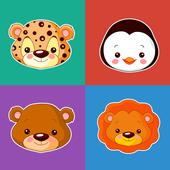 Hewan anak-anak permainan ikon