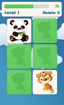 Jeux de mémoire pour enfants capture d'écran 1