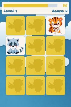 Jeux de mémoire pour enfants capture d'écran 5