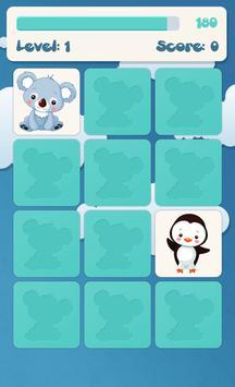 子供のための動物の記憶ゲーム スクリーンショット 2
