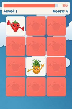 لعبة ذاكرة الفواكه للأطفال تصوير الشاشة 5
