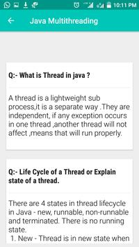 Java Interview Questions and Answers 스크린샷 4