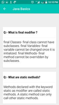 Java Interview Questions and Answers screenshot 5