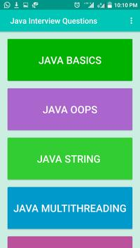 Java Interview Questions and Answers screenshot 1