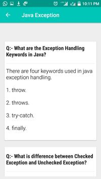 Java Interview Questions and Answers screenshot 3