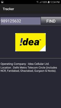 Trace Mobile Number captura de pantalla 1