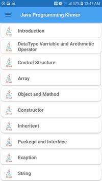 Java Programming Khmer screenshot 1