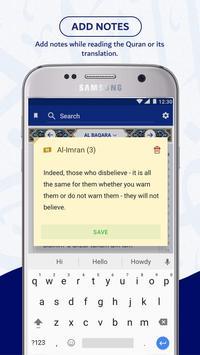 Multi Language Quran: Holly Quran in Your Language Screenshot 5