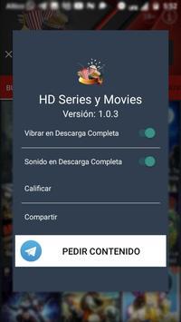 HD Series y Movie captura de pantalla 1