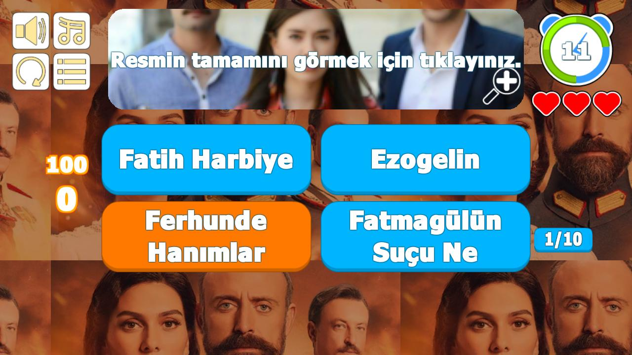 Which Serie ? Guess the Turkish Series Game for Android