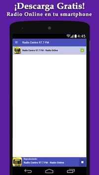 Radio Centro 97.7 FM - Radio Online screenshot 2