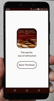 The secret law of attraction poster