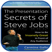 The presentation secrets of steve jobs icon
