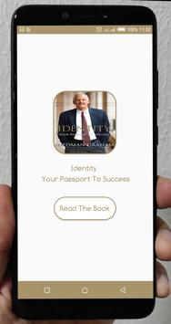 Identity your passport to success poster