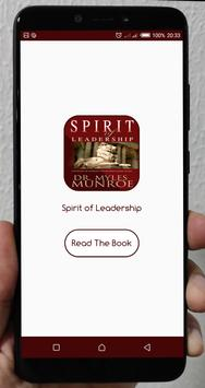 Spirit of Leadership poster