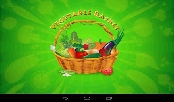 Vegetable Basket Kids Game poster