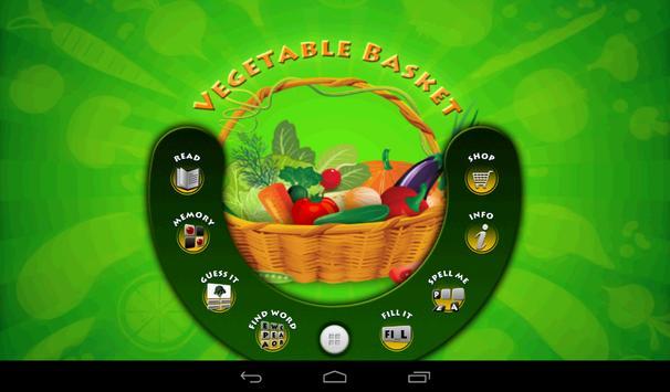 Vegetable Basket Kids Game screenshot 2