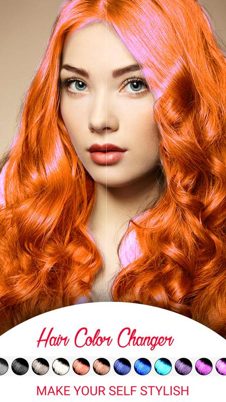 Hair Color Change Photo Editor for Android - APK Download
