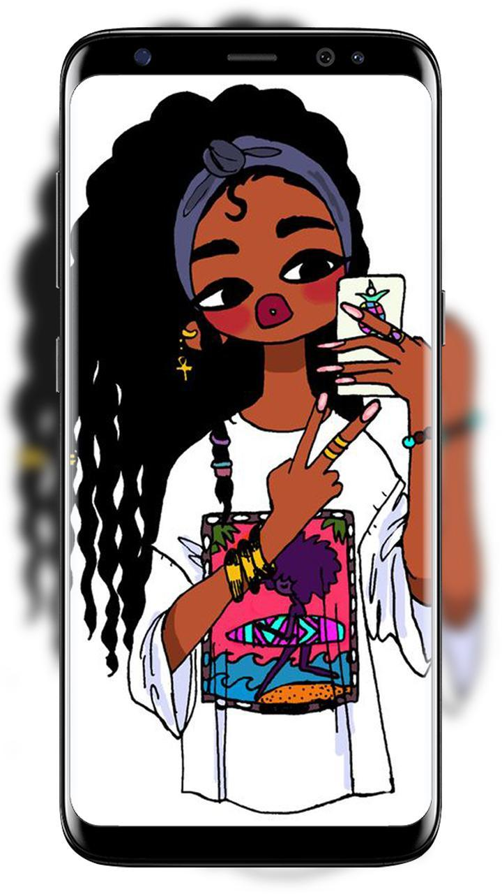 Melanin Wallpapers Cute Black Girls For Android Apk Download