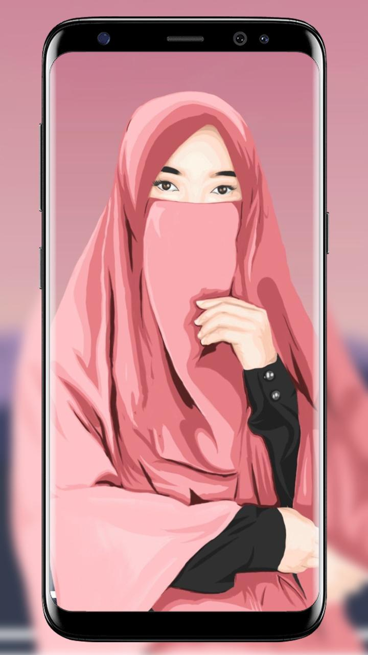 Kartun Hijab Wallpaper Muslimah For Android APK Download