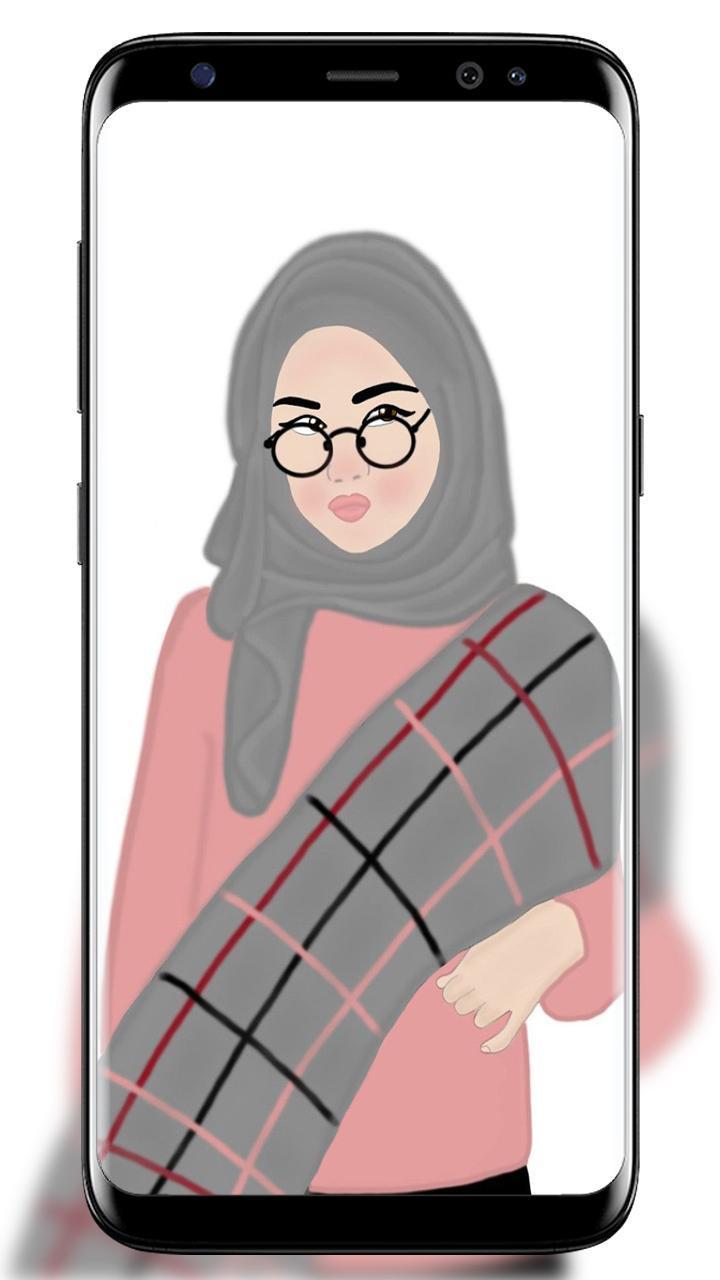 Unduh 950+ Wallpaper Animasi Hijab Keren Paling Keren