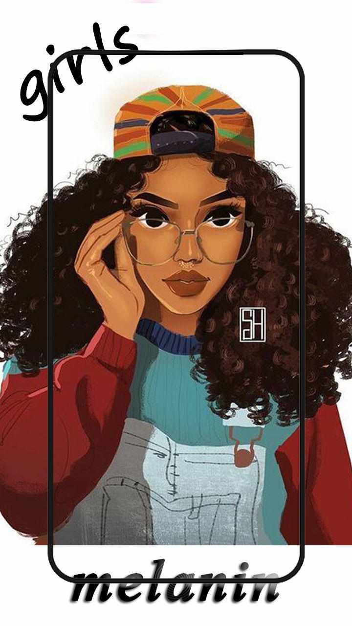 Cute Black Girls Wallpaper Melanin For Android Apk Download