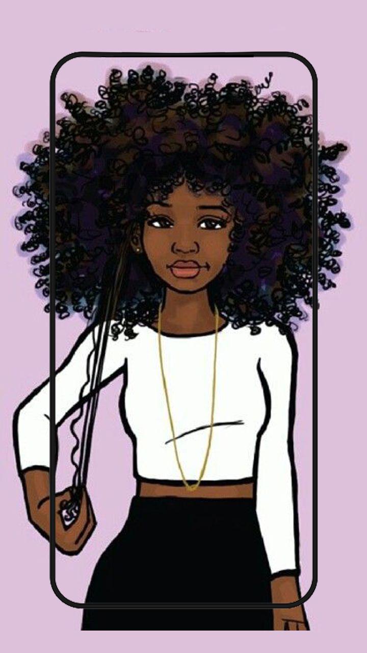 Fondo De Pantalla De Chicas Lindas Negras Melanina For