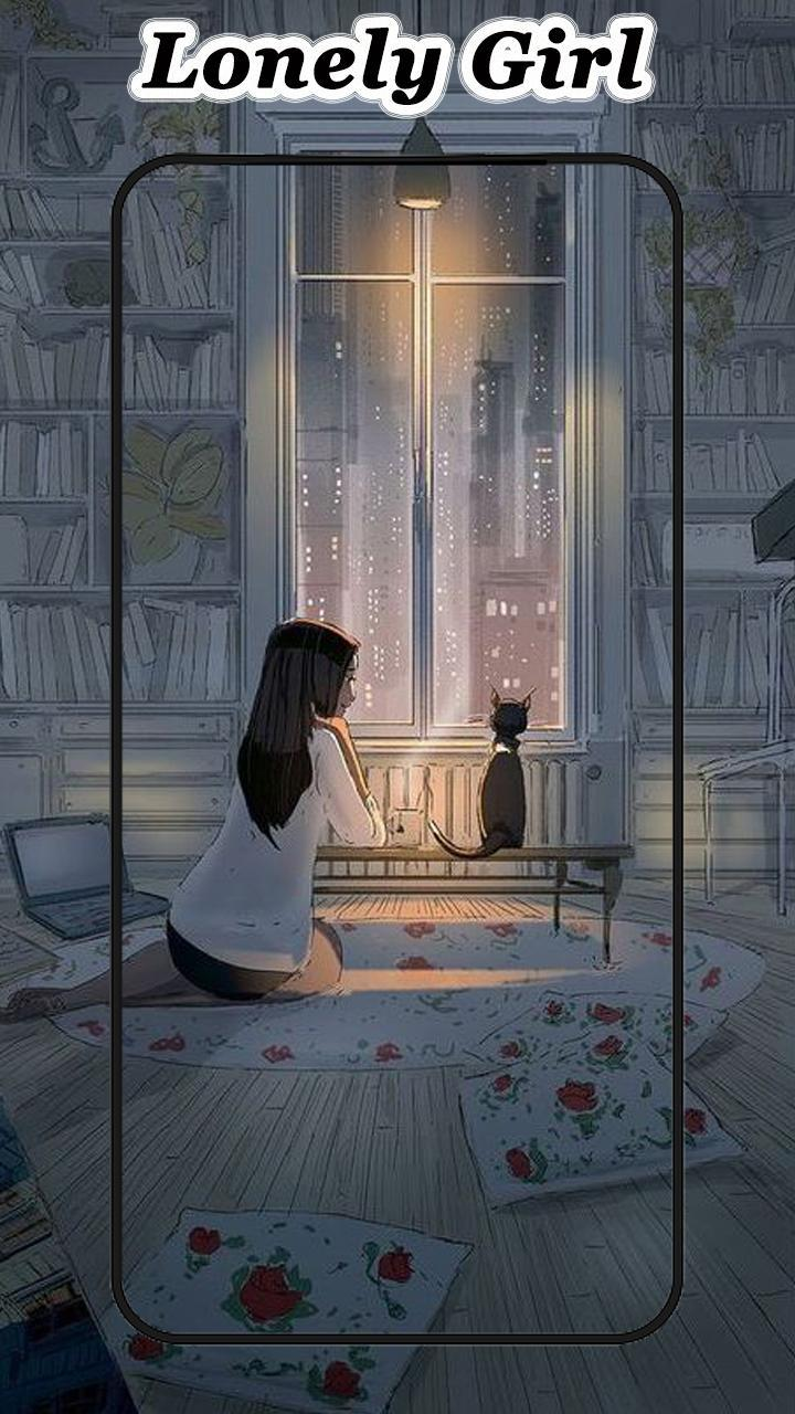 Lonely Girl Wallpapers For Android APK Download
