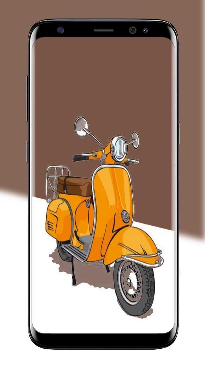 Scooter Wallpaper Art For Android APK Download