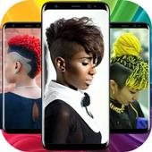 Latest Black Woman Short Hairstyle icon