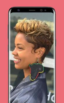 Latest Black Woman Short Hairstyle poster