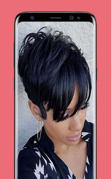 Latest Black Woman Short Hairstyle screenshot 1