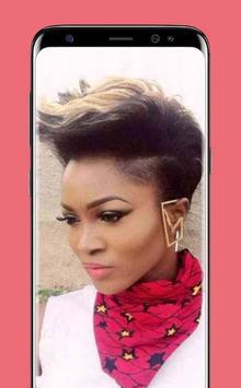 Latest Black Woman Short Hairstyle screenshot 2