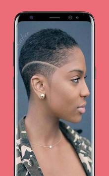 Latest Black Woman Short Hairstyle screenshot 3
