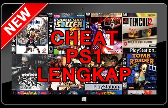 Cheat Game PS1 Lengkap poster